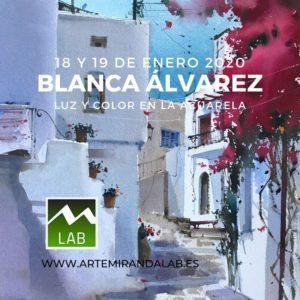 """BLANCA ÁLVAREZ</br></br>Curso Intensivo de ACUARELA </br></br>""""Luz y color en la acuarela"""" @ Artemiranda LAB"""
